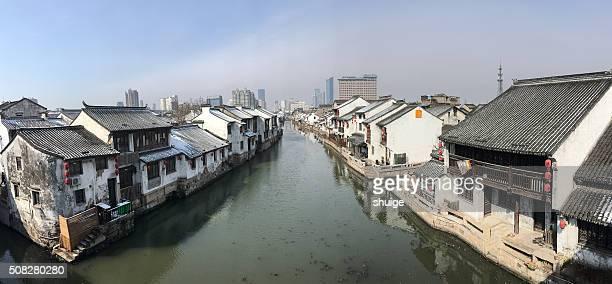 The ancient canal scenic wonderland QingMing bridge