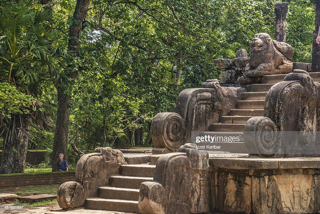 The ancient city of Polonnaruwa, Sri Lanka