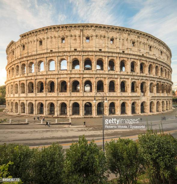 The ancient Colosseum Rome Italy