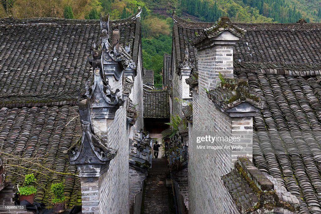 The ancient town of Fuli, China : Stock Photo