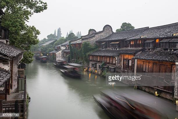 The ancient water town of Wuzhen