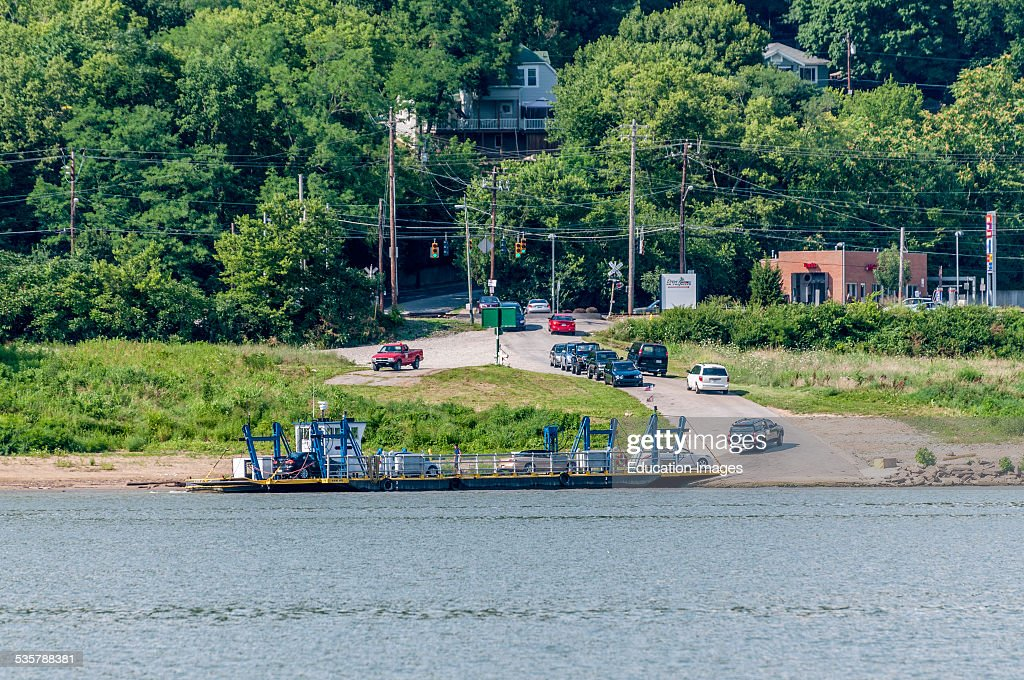 The Anderson Ferry is a ferry across the Ohio River between Cincinnati Ohio and Constance Kentucky