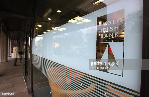 The Anglo Irish Bank headquarters are pictured in Dublin Ireland on February 25 2009 Police and investigators raided the Dublin headquarters of the...