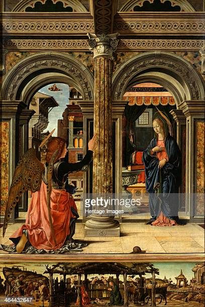 The Annunciation 14701472 Found in the collection of the Dresden State Art Collections