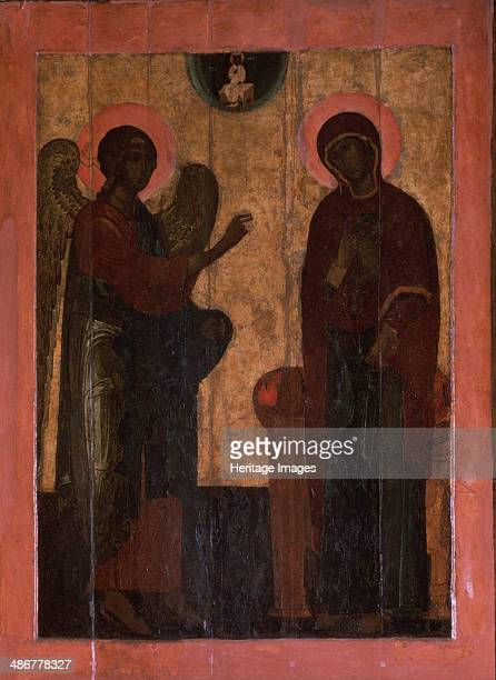 The Annunciation of Ustyug Second half of the16th cen Artist Russian icon