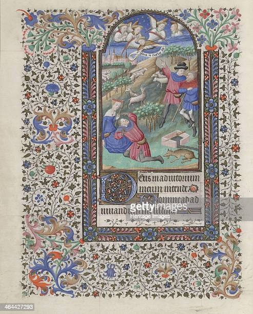 The Annunciation to the Shepherds 14401460 Found in the collection of the The Morgan Library Museum New York