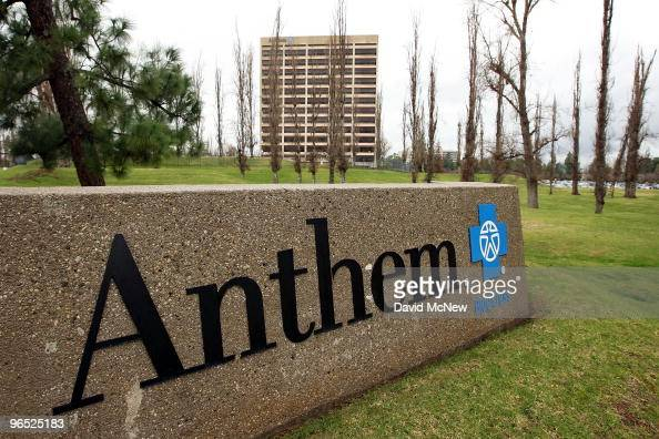 The Anthem Blue Cross headquarters is seen after the health insurer began informing its individual policyholders of rate hikes up to 39 percent to...
