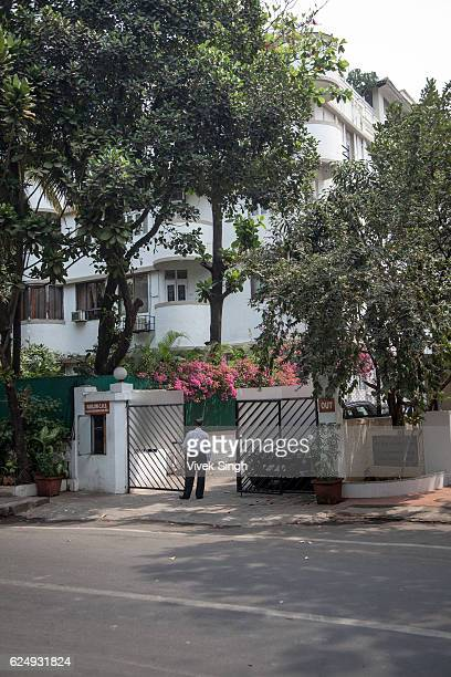 The apartment of Indian media tycoon Peter Mukerjea and his wife Indrani Mukerjea on February 29 in Mumbai India The Mukerjeas were charged with...