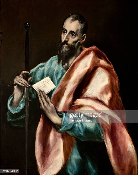The Apostle Paul Found in the collection of Museo del Greco Toledo