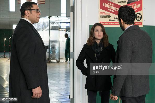 THE BLACKLIST 'The Apothecary' Episode 415 Pictured Harry Lennix as Harold Cooper Megan Boone as Elizabeth Keen