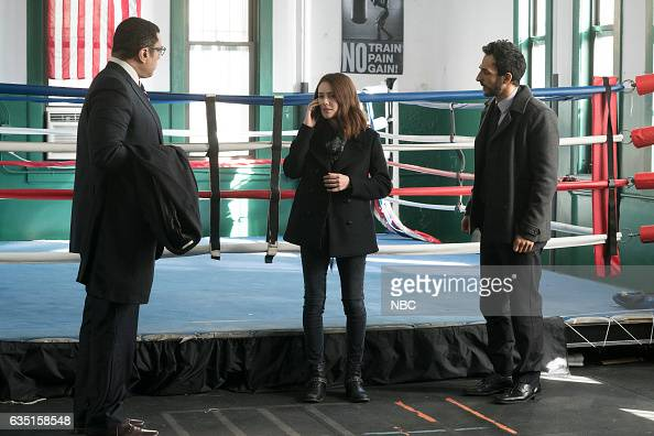 THE BLACKLIST 'The Apothecary' Episode 415 Pictured Harry Lennix as Harold Cooper Megan Boone as Elizabeth Keen Amir Arison as Aram Mojtabai