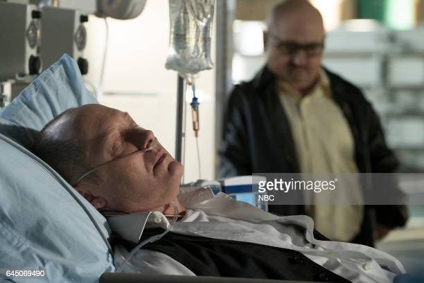 THE BLACKLIST 'The Apothecary ' Episode 415 Pictured James Spader as Raymond 'Red' Reddington Clark Middleton as Glen