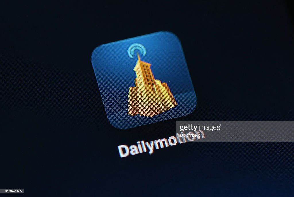 The app logo for the video site Dailymotion, a unit of France Telecom SA is displayed on an Apple Inc. iPad screen in this arranged photograph in London, U.K., on Wednesday, May 1, 2013. Yahoo! Inc.'s plan to buy a stake in France Telecom SA's video site Dailymotion has stalled after a disagreement about the deal, according to the French government. Photographer: Chris Ratcliffe/Bloomberg via Getty Images