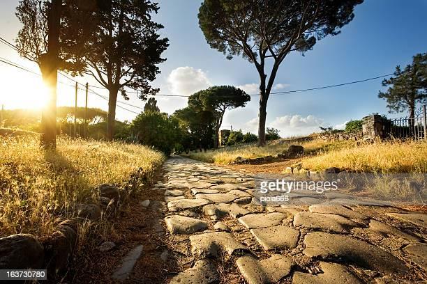 Der Via Appia in Rom