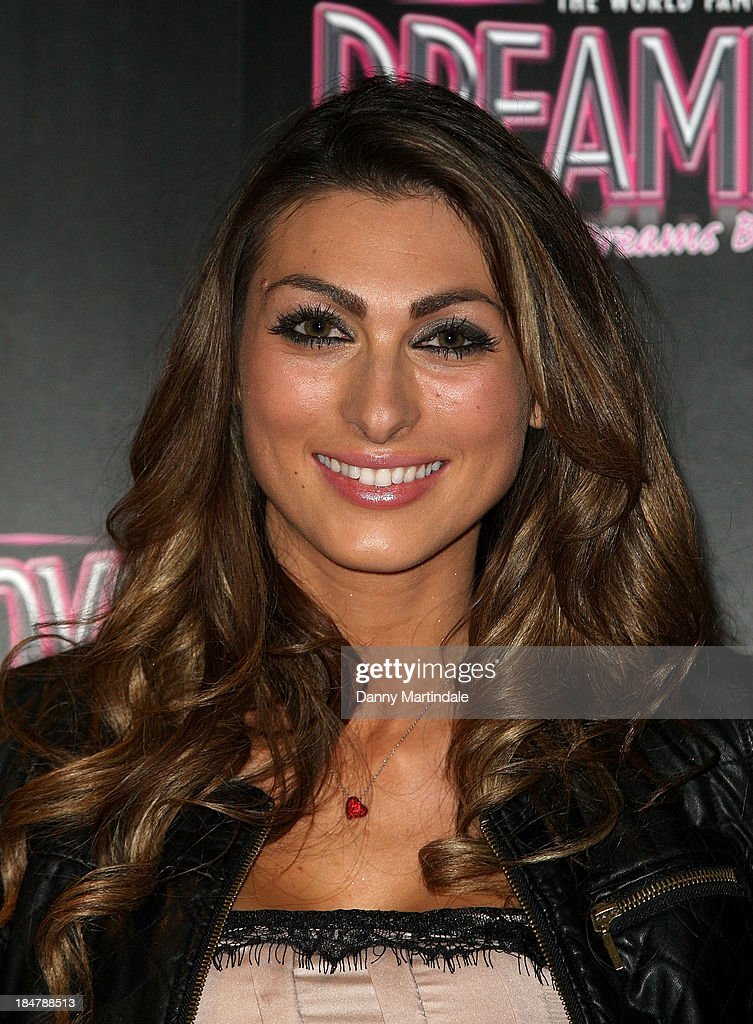 The Apprentice star Luisa Zissman attends as the Dreamboys hold a Gala performance at Rise Supperclub on October 16, 2013 in London, England.