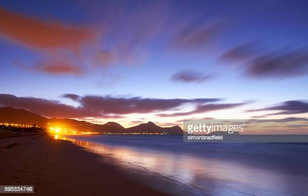 The Approaching Dawn At Porto Santo
