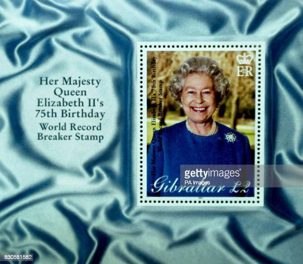The approved stamp of the Queen which will leave the House of Questa for the start of it's record breaking journey of being printed into stamps that...