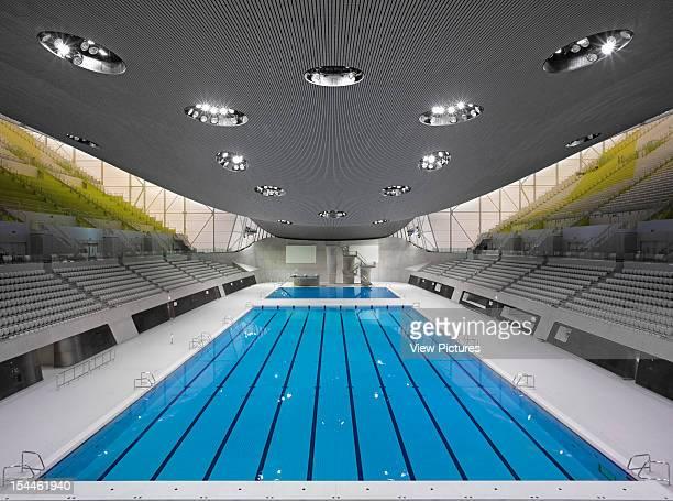 The Aquatics CentreLondon 2012 OlympicsZaha Hadid Architects Overall Pool Interior Zaha Hadid Architects United Kingdom Architect