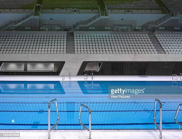 The Aquatics CentreLondon 2012 OlympicsZaha Hadid Architects Overall Pool Interiorzaha Hadid Architects United Kingdom Architect