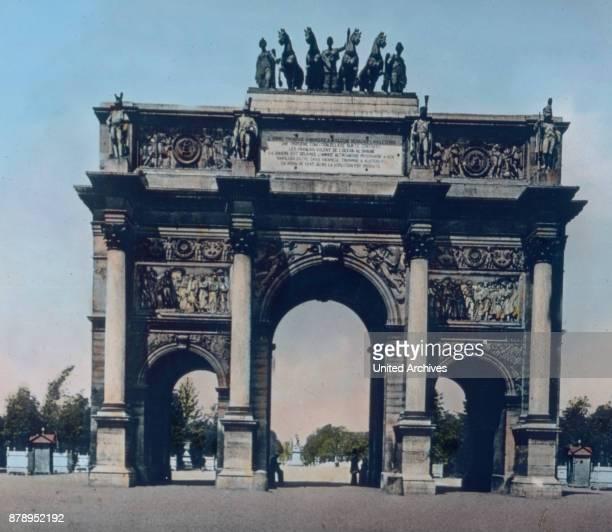 The Arc de Triomphe du Carousel in Paris