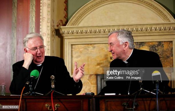The Archbishop of Birmingham the Most Reverend Vincent Nichols who has been named as the new Roman Catholic Archbishop of Westminster pictured at The...
