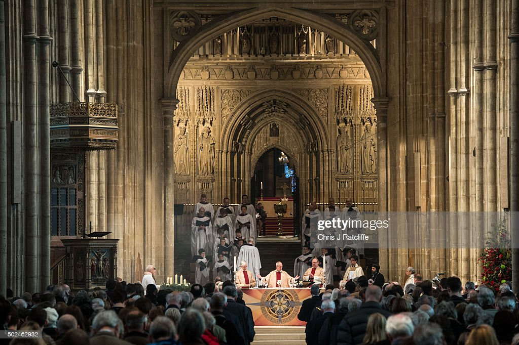 Archbishop Of Canterbury Delivers His Christmas Sermon