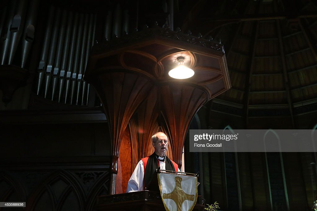 Archbishop of Canterbury visits New Zealand