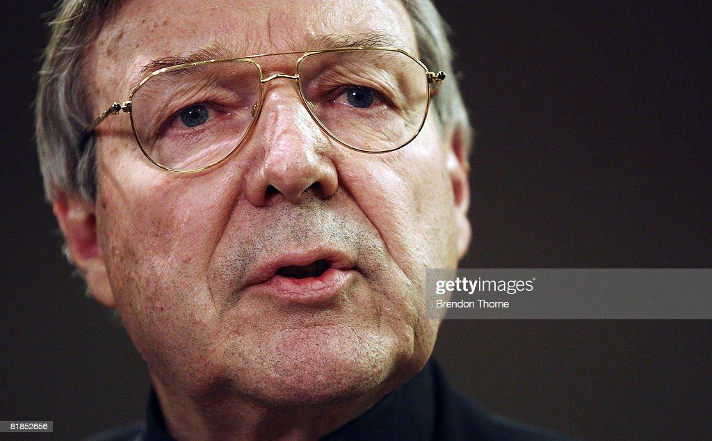 The Archbishop Of Sydney, Cardinal George Pell addresses the media during a press conference ahead of World Youth Day Sydney 08, at the Polding Centre on July 8, 2008 in Sydney, Australia. Organised every two to three years by the Catholic Church, World Youth Day (WYD) is an invitation from the Pope to the youth of the world to celebrate their faith. The celebration, being held in Sydney from July 15, 2008 to July 20, 2008, will mark the first visit of His Holiness Pope Benedict XVI to Australia.