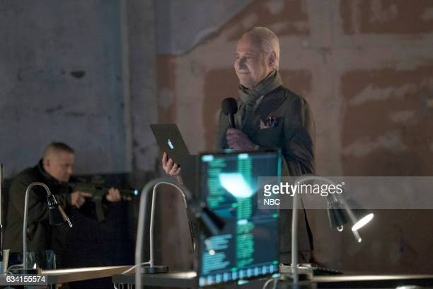 THE BLACKLIST 'The Architect' Episode 414 Pictured Brent Spiner as The Architect