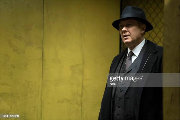 THE BLACKLIST 'The Architect' Episode 414 Pictured James Spader as Raymond 'Red' Reddington