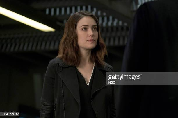 THE BLACKLIST 'The Architect' Episode 414 Pictured Megan Boone as Elizabeth Keen