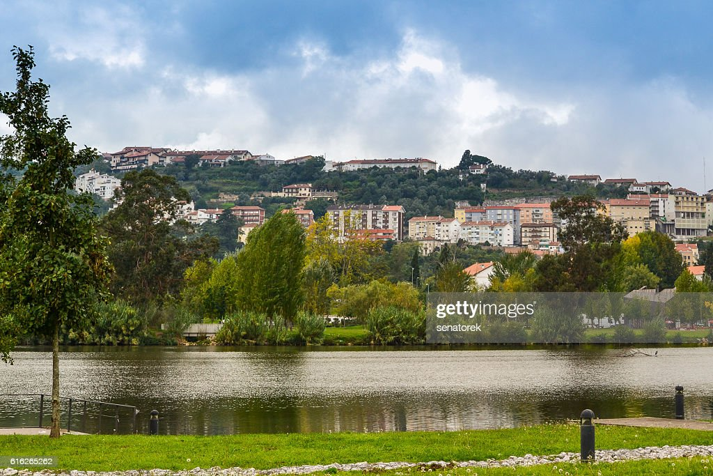 The architecture of the city of Coimbra, Portugal : Stock Photo
