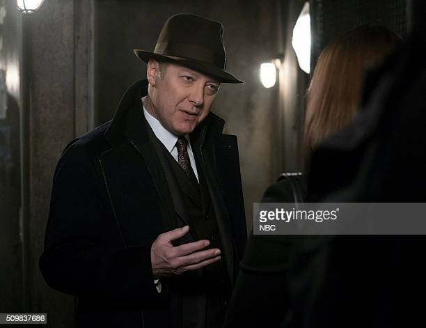 THE BLACKLIST 'The Archivist' Episode 316 Pictured James Spader as Red Reddington