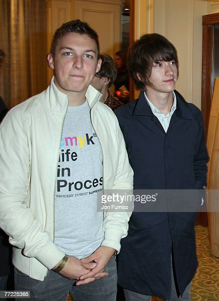 The Arctic Monkeys attend The Q Awards 2007 held at the Grosvenor House Hotel on October 8 2007 in London