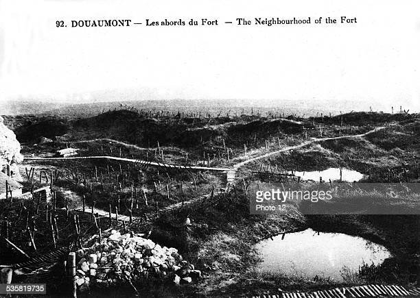 The area around the Douaumont Fort France 19141918 France World War I