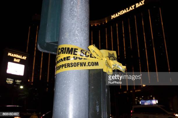 The area near Mandalay Bay Resort and Casino is still on police lockdown as law enforcement agencies continue to investigate the cause of the...