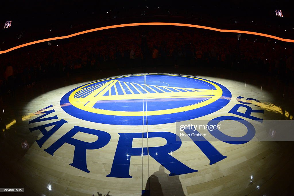 The arena before the Golden State Warriors face the Oklahoma City Thunder for Game Five of the Western Conference Finals during the 2016 NBA Playoffs on May 26, 2016 at ORACLE Arena in Oakland, California.