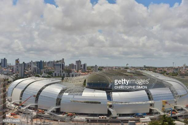 The Arenas das Dunas stadium in Natal northeastern Brazil on December 8 2013 The Arenas das Dunas will host some of the FIFA WC Brazil 2014 football...