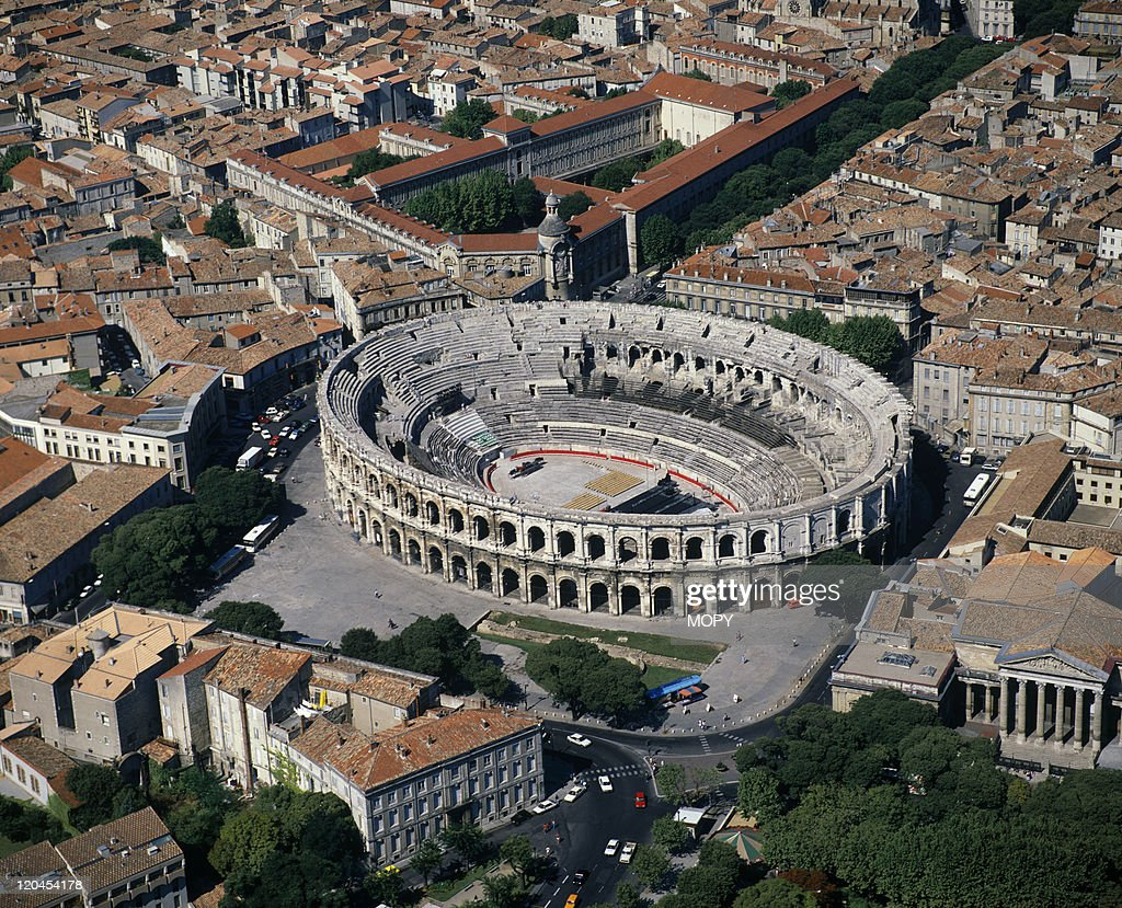 The arenas in Nimes France on May 16 1988