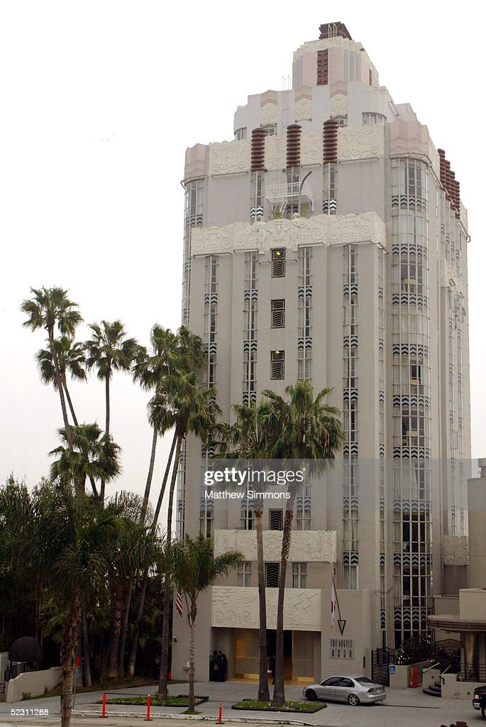 The Argyle Hotel on Sunset Boulevard is seen on March 8 2005 in Los Angeles California