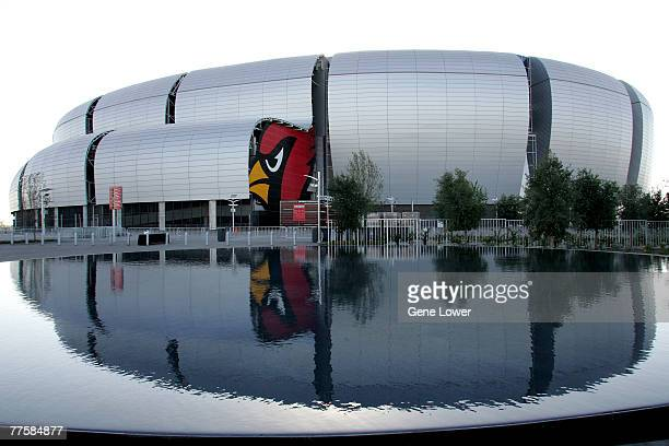 The Arizona Cardinals dedicate the outdoor pedestrian walkway ringing the stadium as Pat Tillman Freedom Plaza and unveil a bronze statue of the late...