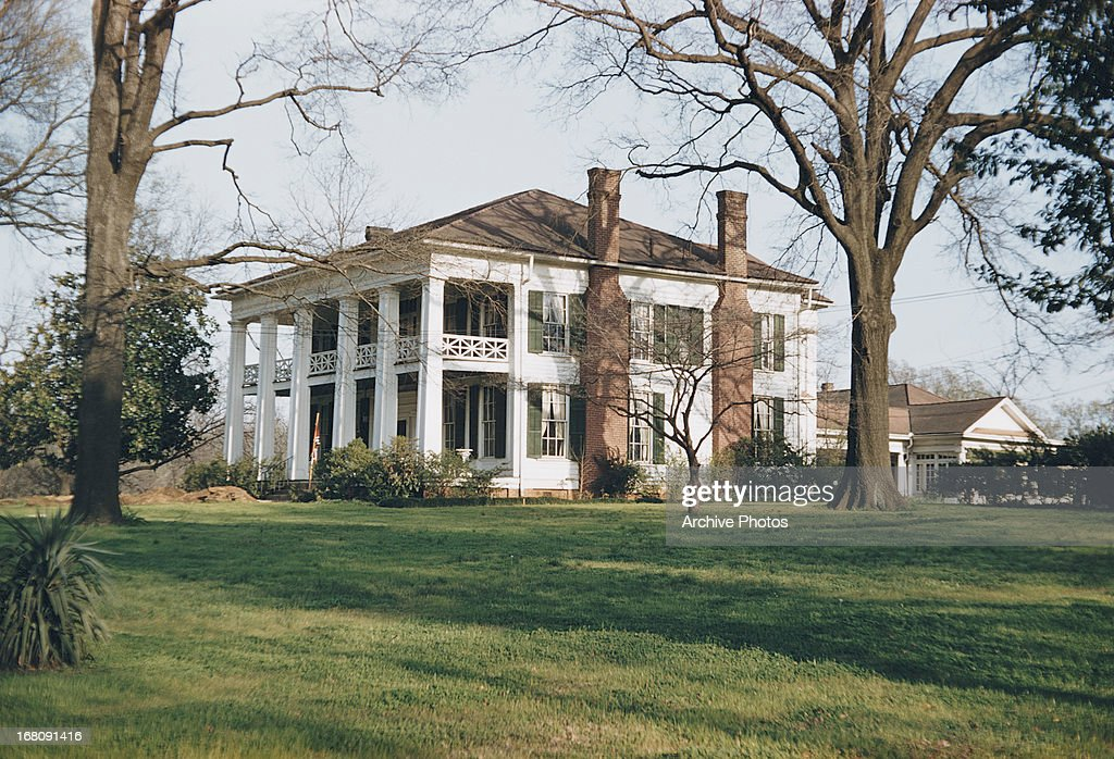 The Arlington Antebellum Home and Gardens Birmingham Alabama circa 1965
