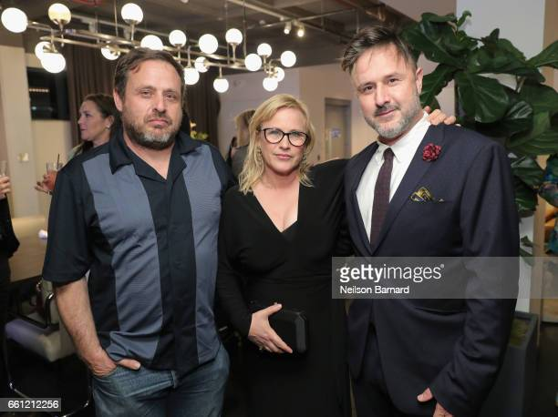 The Arquette Family attend a celebration for the Alexis Arquette Family Foundation during an intimate dinner hosted by Ketel One Vodka and Patrica...