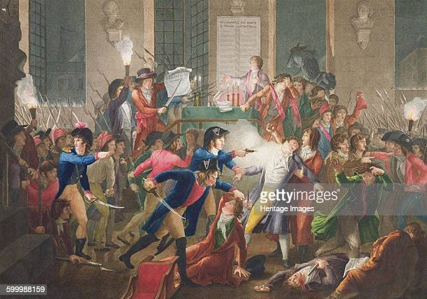 The Arrest of Robespierre on 27 July 1794 c 1796 Private Collection Artist Tassaert JeanJosephFrançois