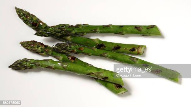The arrival of fresh asparagus is the sign that spring is official but the season doesn't last long