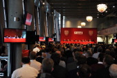 The Arsenal AGM at Emirates Stadium on October 25 2012 in London England