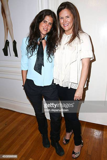 The Art of Elysim Founder Jennifer Howell and director Francesca Gregorini attend The Art of Elysium and Relativity Media hosted dinner and...