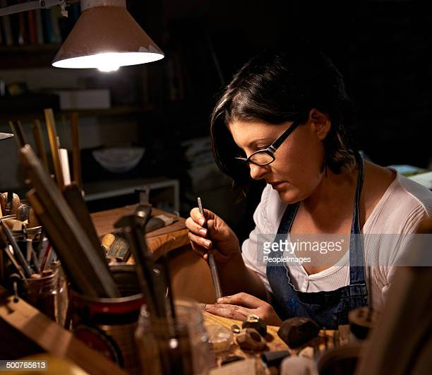The artisan at work