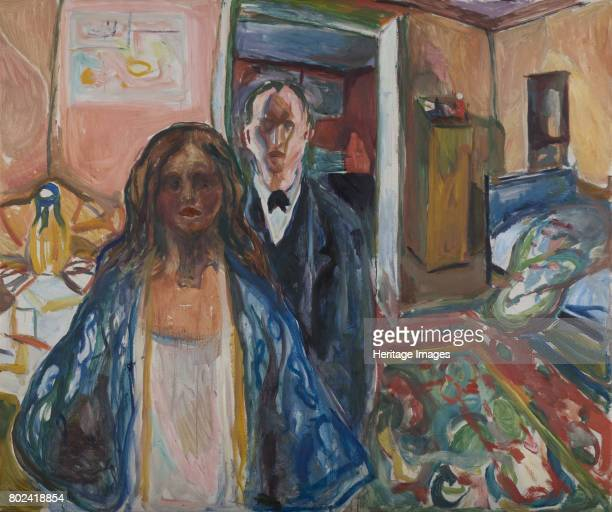 The Artist and his Model 19191921 Found in the collection of Munch Museum Oslo
