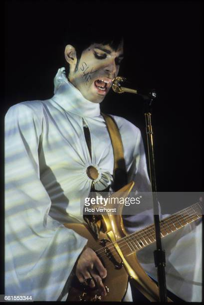 The Artist Formerly Known As Prince performs on stage at Brabant hallen Den Bosch Netherlands 24th March 1995